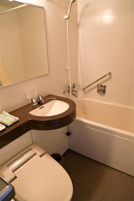清潔なバス・トイレ